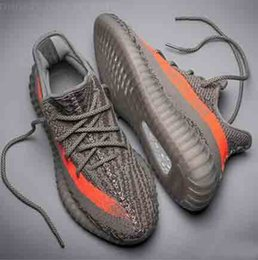 Wholesale Shoes Words - DHL FREE CP9366 CP9654 Kanye West Sply Boost 350 V2 Black word 350V2 real booots Men Women sneaker sport Running Shoes with box