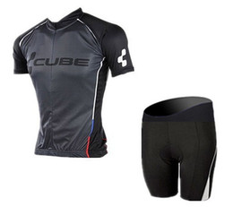 Acheter en ligne Kits de l'équipe de cyclisme professionnel-Nouveau! CUBE Pro Team Cycling Jersey bib Short set / Bib Shorts bycling bib short cycling clothes kits / short set / short suit