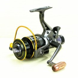 Wholesale Bait Feeder - Hlq Fishing Reel Fishing Spinning Reel 5.2:1 10+1BB Double Drag Carp Feeder Fishing Reel Wheel Free Shipping