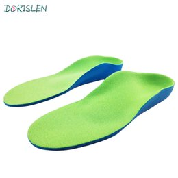 Wholesale Insole Flat Foot - Kids Children Orthotic Insole For Flat Foot Arch Support Orthopedic Insoles 9 Size