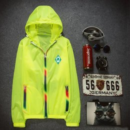 Wholesale Germany Coat - Germany hoodies Country team skinsuits Football sweat shirts Sun proof clothing coat Outdoor sport jacket Unisex sweatshirts