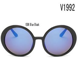 Deutschland Sonnenbrille für Frauen ovale Gesicht Seitenschilder China Farbe Glas Großhandel Sommer Europa Großhändler Gläser Unterstützung Korea blaue Marke mit Box Versorgung