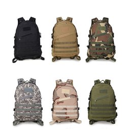 Wholesale Large Military Style Backpacks - 36-55L Large Capacity Leisure Oxford Men's 3D Attack Assault Backpacks High Quality Military Army Style Camouflage Bag