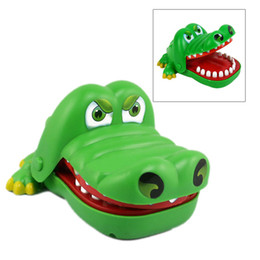 Wholesale Old Bit - Creative Mouth Tooth Alligator Hand Children's Toys Family Games Classic Biting Hand Crocodile Game