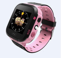 Wholesale Gps Location Finder Tracker - gps watch for kids phone watch tracker phone with Camera Flash Light Touch Screen SOS Call LBS Location Finder