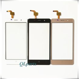 Wholesale Touchscreen Parts - Wholesale- 5.0 inch Touch Panel For LEAGOO M5 Sensor Touch Screen Digitizer Perfect Repair Parts Touchscreen For LEAGOO M5 Front Glass Lens