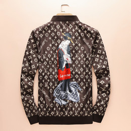 Wholesale Coat Brands For Men - 2018 designer Brand coat for men jacket palace Harajuku streetwear tracksuit mens hip hop windbreaker cosplay jacket