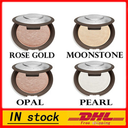 Wholesale yellow moonstone - hot (In Stock )- Becca Shimmering Skin Perfector Pressed Rose Gold Moonstone Pearl Opal Matte Color Bronzer Highlighter Glow Kit Free Shipp