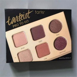 Wholesale Palette Eyeshadows - tarte Tarteist Pro To Go Clay Palette 0.03oz x6 Eyeshadows New 6 Colors Palette DHL Free shipping+GIFT