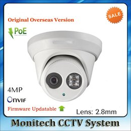Wholesale Ip English - Free shipping New model IP-HK1-10 same as english IP-HK1-10 4MP array 30m IR Network Dome security ip camera H265