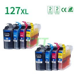 Wholesale Cartridge For Brother - 8 Pack Ink Cartridges LC127 LC125 Compatible for Brother MFC-J4410DW J4710DW J6920DW J6720DW J4510DW J4610DW J6520DW Printer
