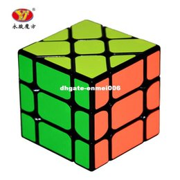 Wholesale Fisher Cube - New Arrival dhgate Speed 3X3X3 Fisher Cube Magic Cubes Speed Puzzle Learning Educational Toys For Children Kids cubo magico