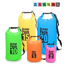 Açık Su Geçirmez Çanta PVC kuru çanta toptan Kova Kılıfı Sürüklenen Yüzme Yüzen Depolama Tekne Gezisi Seyahat Kiti Plaj Su Torbası cheap wholesale pvc beach bags nereden pvc plaj poşetleri toptan ticareti tedarikçiler