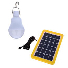 Wholesale Solar 4w - Wholesale-High Bright IP65 Water-proof 4W LED Solar Light Solar Powered LED outdoor Lighting for Camping garden decoration