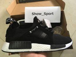 Wholesale Original Japan - NMD XR1 Mastermind Japan MMJ Black White Men Women Running Shoes Sneakers Originals Fashion NMDs Runner Primeknit Boost Sports Shoes