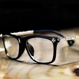 Wholesale Wholesale Designer Optical Frames - Wholesale- ANEWISH New Brand Designer Glasses Frame Women Men Optical Retro Myopia Eyeglasses Frame Computer Plain Eye Glasses Frame UV400