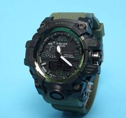 Wholesale Dz Watches - 2017 NEW Men's Multicolor Dial DZ Calendar Bracelet Folding Clasp Luxury Luxury Quartz Men's Watch GA100 Free Shipping