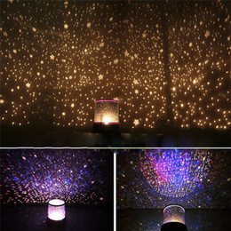 Wholesale Star Night Sky Lamp Sale - Wholesale- Hot Sale Colorful Sky Star Master Night Light Lovely Sky Starry Star Projector Novelty Gifts LED light Lamp High Qualit beauty