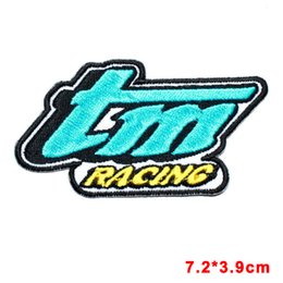 Wholesale Wholesale Motocross Clothing - Racing Motorsport Bike Motocross Shirt Jacket Embroidery Applique Iron Patch