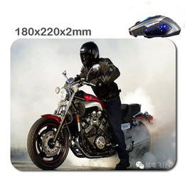 Wholesale Motorcycle Comfort - motorcycle wallpaper 220mm*180mm*2mm Cheapest Newest pigment Best Comfort Game Mouse Pad Mouse Mat for New Year Gift