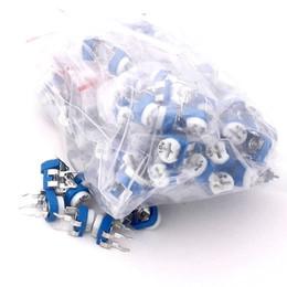 Wholesale Assorted Trim - Wholesale- 86066 Trimming Potentiometer RM-065 top adjustment 100ohm-1Mohm RM065 Variable Resistors Assorted Kit 13Type*10pcs=130pcs