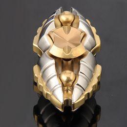scarabeo giocattoli Sconti Più nuovo egiziano Beetle Hand Spinners Spazio del sogno Fidget Spinner Giocattoli di decompressione Metallo Insect Finger Toys Adulti Regali per bambini WX-T49