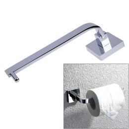 Wholesale Bathroom Toilet Shelves - Copper Chrome Bathroom Wall Mounted Toilet Paper Holders Tissue Roll Holder Shelf Rack Bathroom Accessories