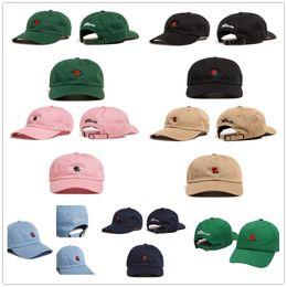 Wholesale Strap Backs Hats - Brand The Hundreds Rose Strap Back Cap Men Women Adjustable Golf Snapback Baseball Hat Summer Fashion Casquette Snapbacks
