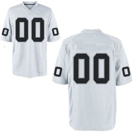 Wholesale Embroidered Football - Fully Custom personalized Your Company Team Name Number Jersey football jersey Embroidered image (all name number stitched)