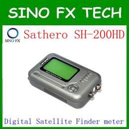 nave libre sathero sh-200hd USB2.0 DVB-S / S2 Analizador de espectro HD Buscador de satélite digital Sathero SH 200HD Digital Meter desde fabricantes