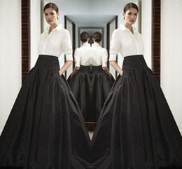 Wholesale Xs Maxi Dress Black - High Waist Black Long Satin Skirts Wide Waistband Floor Length Bust Skirts Custom Made High Quality Maxi Skirt Spring Summer Party Dress