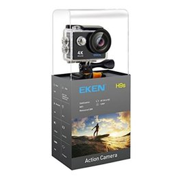 Wholesale Cheap Cmos Camera - Original EKEN W9s Cheap 4K Action Camera Full HD 1080P Waterproof Sport Cam With Wifi 140 Degree Angle 2 inch LCD