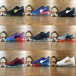 Wholesale Applique Material - 2017 Maxes 2014 Running Shoes Mens High quality Fashion Sport Sneakers Material Training Athletic Walking casual shoe Eur 40-45