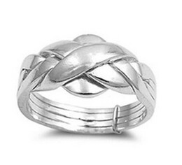 Wholesale Horn Pieces - wedding s 925 sterling silver turkish engagement & wedding ring 4 piece band ring puzzle ring for woman, man, boy and girl