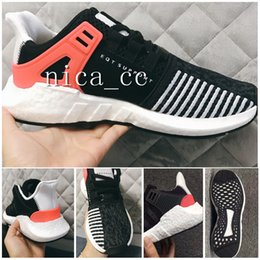 Wholesale Adv Boots - 2017 EQT Support Men Women Runing Shoes Top Quality Cheap EQT ADV 93 Black White Pink 3M Boots Shoes Size 36-44