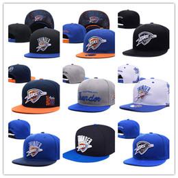 Wholesale Oklahoma City - 2017 new style Men's Women's Basketball Snapback Baseball Snapbacks Oklahoma City Hats Mens Flat Caps Adjustable Cap Sports Hat mix order