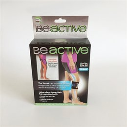 Wholesale Point Pad - Adjustable Beactive Pressure Point Brace For Back Pain Therapeutic Unisex Left Right Knee Pads Supports Leg Be Active Factory Direct