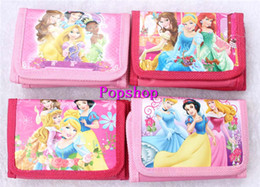 Wholesale Snow White Wallets - 12Pcs Snow White Princess Coin Purse Cute Kids Cartoon Wallet Bag Pouch Children Purse Small Wallet Party Birthday Gift