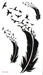 kinder tattoos großhandel Rabatt Großhandel- (Mindestbestellwert $ 0,5) wasserdicht temporäre Tätowierung Tattoo Henna gefälschten Flash Tattoo Aufkleber Taty Tatto 2016 neue Stil SYA130