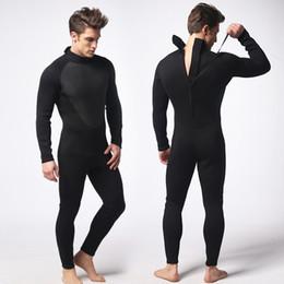 Wholesale Clothes Printing Equipment - 3mm Triathlon Wetsuit Nylon Diving Suit For Men Swimming Snokel Free Swim Spearfishing Underwater Clothing Equipment Set
