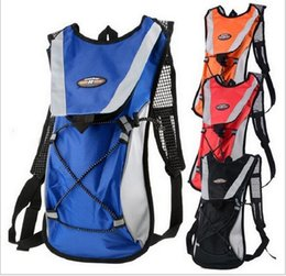 Wholesale Swim Professional - Bicycle Riding Bags Backpack bag With 2L Water Tank Bag Professional Sports Bag Super Light Foldable Backpack High Strength Nylon 48*23CM