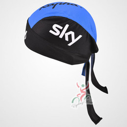 Wholesale Bicycle Headwear - SKY Pro Team cycling Caps MTB scarf Road Bike Professional Hats racing Caps Bicycle Breathable Headwear Outdoor Caps