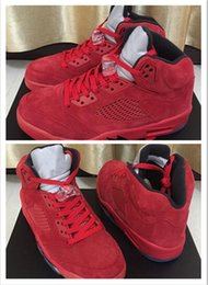 Wholesale Increasing Muscle Size - High Quality Retro 5 red Basketball Shoes Men Women 5s Pure Money Royalty White Cement Bred Military Blue Sports Sneakers Size US 7-13