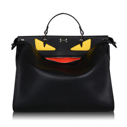 Wholesale Crossbody Bags Men - monster bags handbags women men famous brand top-handle bag luxury designer Business laptop bag women shoulder crossbody bolsas