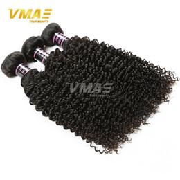 Wholesale Coloured Brazilian Hair Weave - Unprocessed brazilian Virgin Kinky Curly 3 Bundles Human Hair Weave Virgin brazilian Deep Curly Hair Extensions Natural Colour