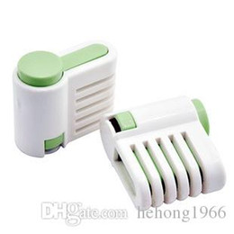 Wholesale Cutter For Plastic - Plastic ABS Slicer Auxiliary Baking Tool Household Easy To Clean Mini Bread Cake Separator Without Blade For Home 2 5tf R