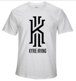 Wholesale Kyrie Irving Shirt - 2016 summer new KYRIE IRVING basket ball t shirt men women casual short tees CAVS tshirt homme sprotswear camiseta hombre XS-2XL