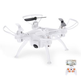 Wholesale uav drone rc - TK106RHW RC Helicopter Quadrocopter UAV 2.4GHz 4CH 6 Axis Gyro Mini Drone Remote Control Multicopter With 0.3MP Camera 720P