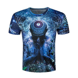 Wholesale Best Long Shirt Brand - 2017 Fashion summer shirts Movies Character Print For Male Brand Creative Crew Neck Clothing Wholesale Best Quality