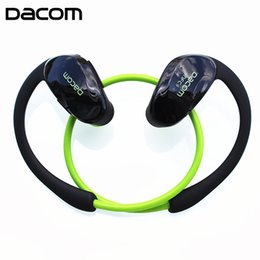 Wholesale Fone Sport Bluetooth - Dacom Athlete G05 Wireless Sports Headphones Bluetooth Headsfree Headset Stereo Music Earphone fone de ouvido Auriculares With Mic